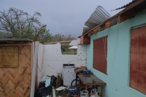 The laundry after Cyclone Pam