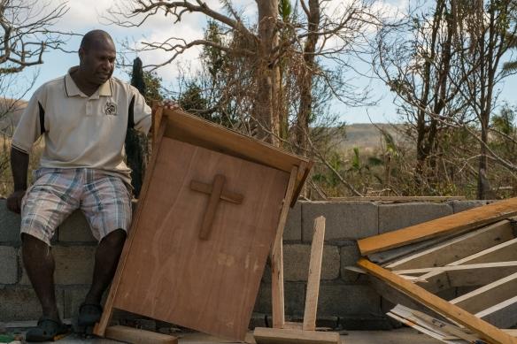 Vanuatu, Tanna, Naka, Cyclone Pam 30